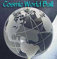 crystal World Ball